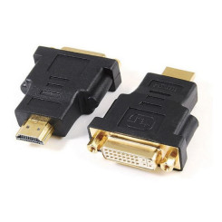 HDMI-DVI Adapter GEMBIRD A-HDMI-DVI-3 Must