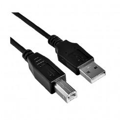 USB-kaabel NANOCABLE AIEACI0014 10.01.0103BK A-B Printer