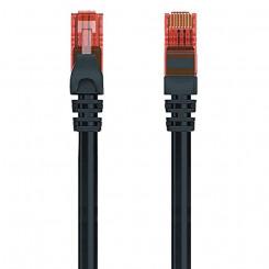 UTP Kategooria 6 Jäik Võrgukaabel Ewent EW-6U-005BL 1000 Mbit/s Must (0,5 m)