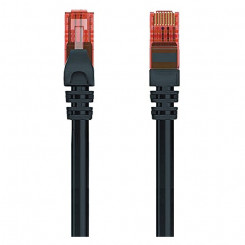 UTP Kategooria 6 Jäik Võrgukaabel Ewent EW-6U 1000 Mbit/s Must