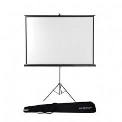 Настенный экран с триподом + сумка iggual PSITS180 180 x 180 cm