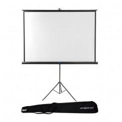 Настенный экран с триподом + сумка iggual PSITS200 (200 x 200 cm)