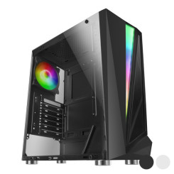 Блок полубашня Micro ATX / Mini  ITX / ATX Mars Gaming MCL RGB LED