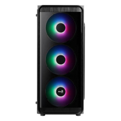 Блок полубашня Micro ATX / Mini  ITX / ATX Aerocool SI5200 Frost Ø 12 cm RGB