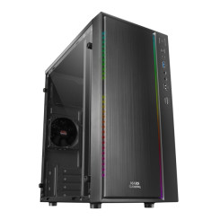 Блок-минибашня Micro ATX/ITX Mars Gaming MCM RGB Чёрный