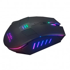 LED gaming-mus Mars Gaming Mars MM116 3200 dpi Must