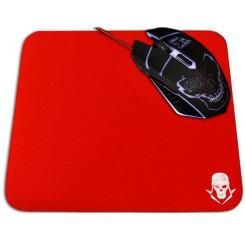 Gaming-musemåtte Skullkiller GMPR Punane