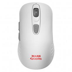 Mänguri Hiir Mars Gaming MMW2W Valge RGB 3200 dpi