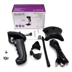 Alustoega Ribakoodilugeja Ewent EW3420 LED USB Must