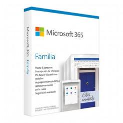 Microsoft Office 365 Home Microsoft 6GQ-01167 (6 Litsentsi)