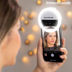 Аккумуляторный кольцевой светильник для селфи Instahoop InnovaGoods