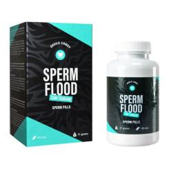 Таблетки для улучшения качества спермы Sperm Flood Devils Candy
