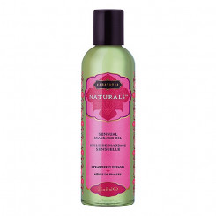 Erootilise massaaži õli Strawberry Dreams Kama Sutra (59 ml)