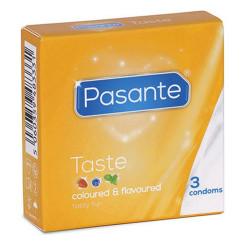 Презервативы Pasante Taste 19 cm (3 pcs)