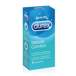 Durex Natural Plus Kondoomid (6 ühikut)