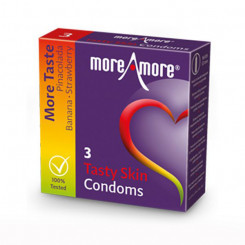 Tasty Skin Kondoomid (3 tk) MoreAmore 42153