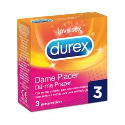 Dame Placer Kondoomid Durex (3 pcs)