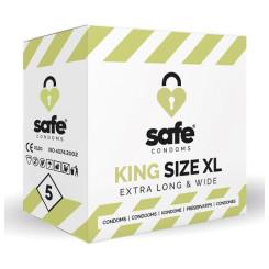 King XL Kondoomid Safe