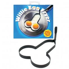 Rude Shaped Egg Fryer Willie küpsetusvormid Spencer & Fleetwood HH31
