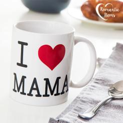 Чашка I Love Mama Romantic Items