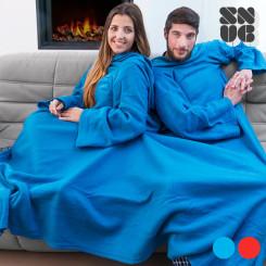 Большое Двойное Одеяло с Рукавами Snug Snug для Взрослых