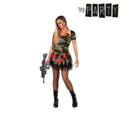 Maskeraadi kostüüm täiskasvanutele Seksikas zombi sõjaväelane