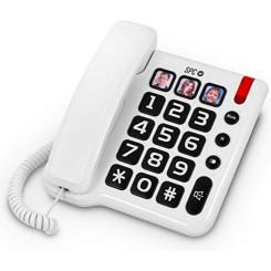 Стационарный телефон для пожилых SPC 3294 Белый