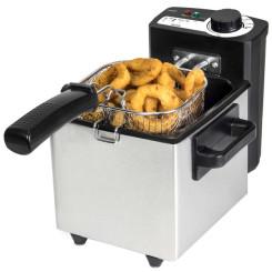 Fritüür Cecotec Cleanfry 1,5 L 1000W Roostevaba teras