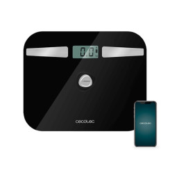 Digitaalsed Vannitoakaalud Cecotec EcoPower 10200 Smart Healthy LCD Bluetooth 180 kg Must