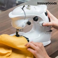 InnovaGoods Kompaktne Õmblusmasin 6 V 1000 mA Valge