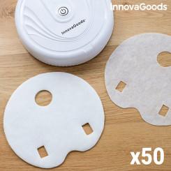 Vahetage puhastusroboti mopid InnovaGoods Pakis 50 ühikut