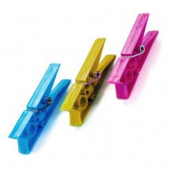 Pesulõksud Plastmass (20  Tükid, osad)