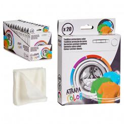 Салфетки для стиральных машин Цвет (20 Предметы) (2,5 x 18 x 14 cm)