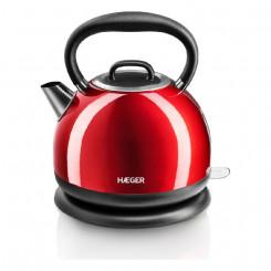 Электрочайник и Заварник Haeger Red Cherry 2200 W 1,7 L