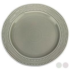 Плоская тарелка Фарфор (26,5 x 26,5 x 2 cm)