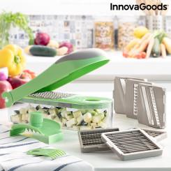 7-in-1 köögiviljalõikur, riiv ja mandolinriiv retseptide ja tarvikutega Choppie Expert InnovaGoods