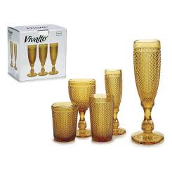 Бокал для шампанского Янтарь 180 ml (1 pcs)