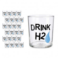 Klaas Drink H2 Läbipaistev Klaas (380 ml)