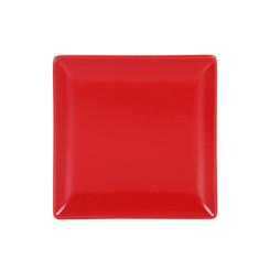 Тарелка Ming II Красный Хлебница (16 x 16 x 2 cm)