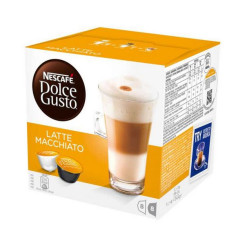 Kohvikapslid Nescafé Dolce Gusto 98386 Latte Macchiato (16 uds)