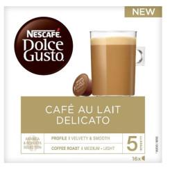 Kohvikapslid Nescafé Dolce Gusto Au Lait Delicato (16 uds)