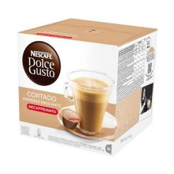 Kohvikapslid Nescafé Dolce Gusto 94314 Espresso Macchiato Decaffeinato (16 uds)