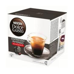Kohvikapslid Nescafé Dolce Gusto 60924 Espresso Intenso Decaffeinato (16 uds)