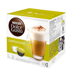 Kohvikapslid Nescafé Dolce Gusto 98492 Cappuccino (16 uds)