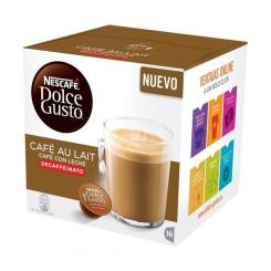 Kohvikapslid Nescafé Dolce Gusto 97934 Café Au Lait (16 uds) Kofeiinivaba