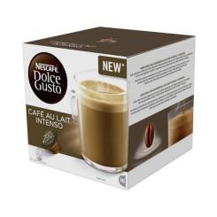Kohvikapslid Nescafé Dolce Gusto 45831 Café Au Lait Intenso (16 uds)