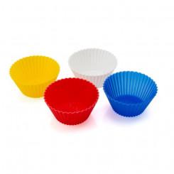 Silikoonist Muffinivorm (4 pcs) 143983