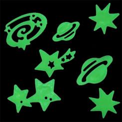 Pimedas Helendavad Tähed & Planeedid