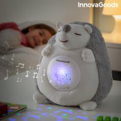 Плюшевый Ёжик с белым шумом и проектором-ночником Spikey InnovaGoods