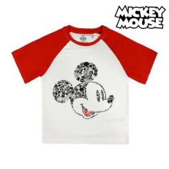 Laste Lühikeste varrukatega T-särk Mickey Mouse 73484